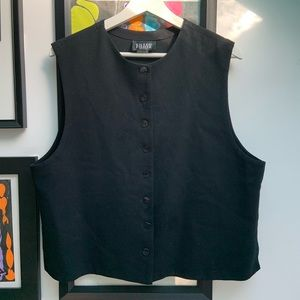 Eileen Fisher wool vest